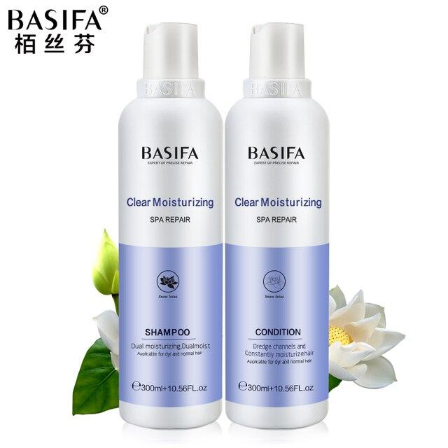 Basifa натуральный шампунь для волос и кондиционеры для волос питательный набор по уходу за волосами восстанавливает сухие волосы