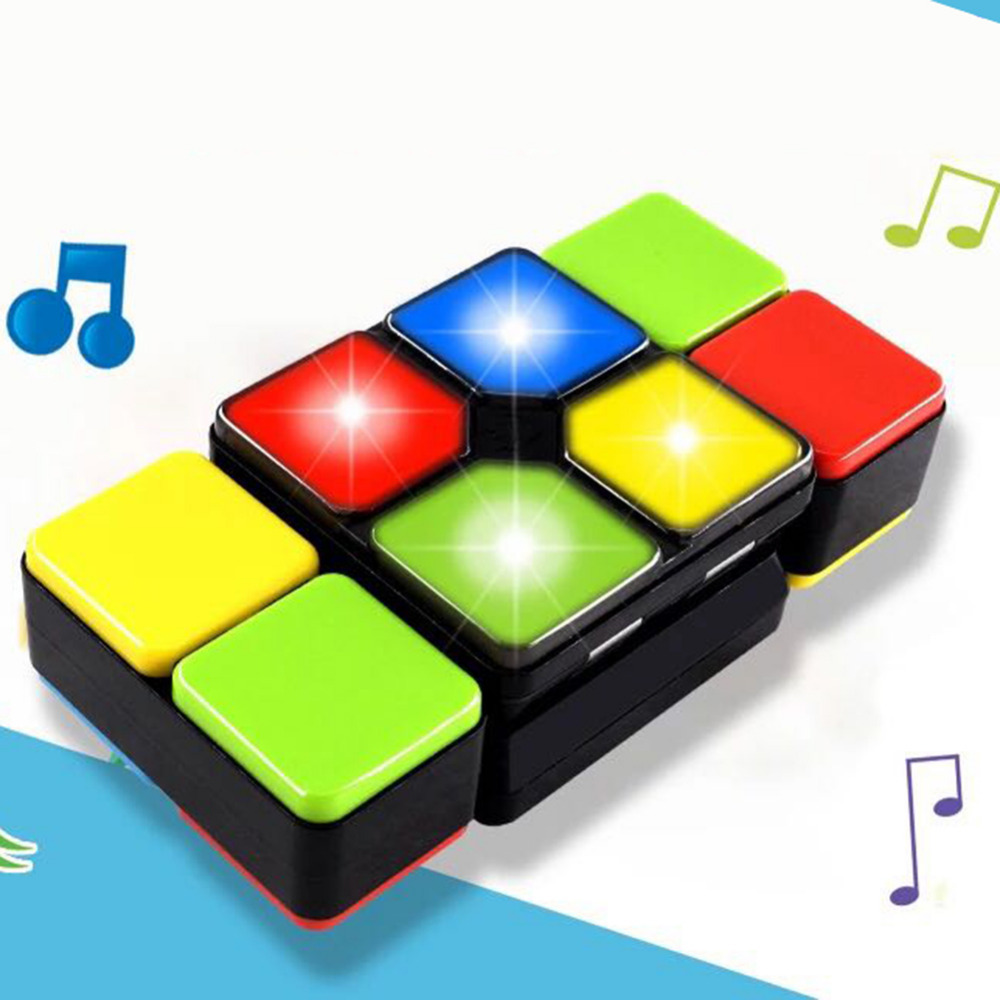 New Music Magic Cube Multiple Infinite Led Light Antistress Cube Challenge Gaming Mode Kids Education Toy for Children