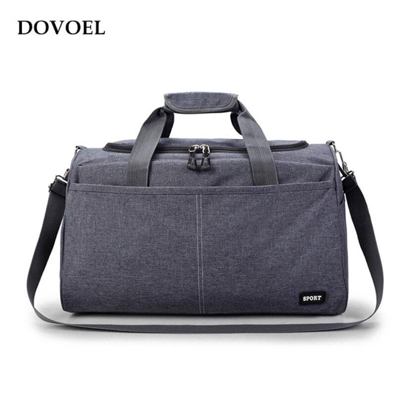 Dovoel Big Travel Handbag Large Capacity Nylon Solid Color Carry on Luggage Bags Fashion Design Travel Duffle Handbag BV320X