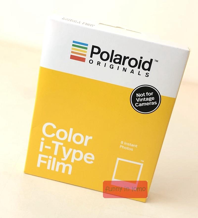 Цветная пленка и издание Polaroid Originals Standard i-Type для камер i-Type Onestep + и Onestep2 VF +