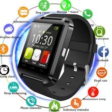 U8 Bluetooth Smart часы альтиметр барометр Спорт часы наручные часы водонепроницаемые Шагомер smartwatch для IOS телефона Android