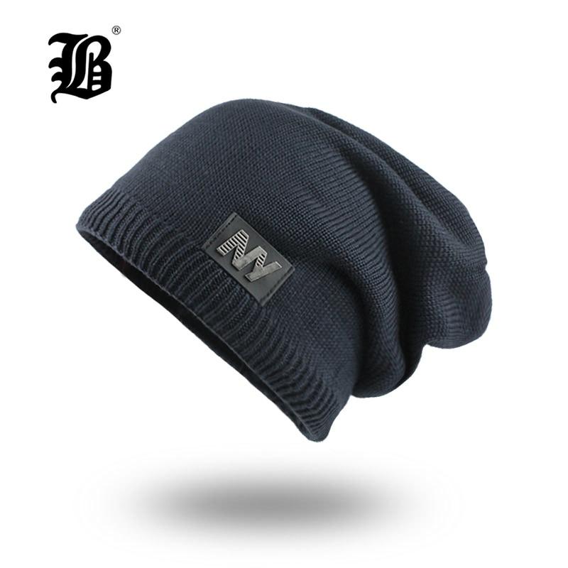 d1284cc872fc [FLB] gorro de punto para hombre gorros de invierno para hombre sombreros  de gorro de Invierno para ...