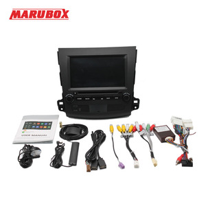 Image 5 - Marubox 2 דין אנדרואיד 9 4GB RAM עבור מיצובישי הנכרי XL 2006 2012 סטריאו רדיו GPS Navi DVD מולטימדיה לרכב נגן 8A710PX5