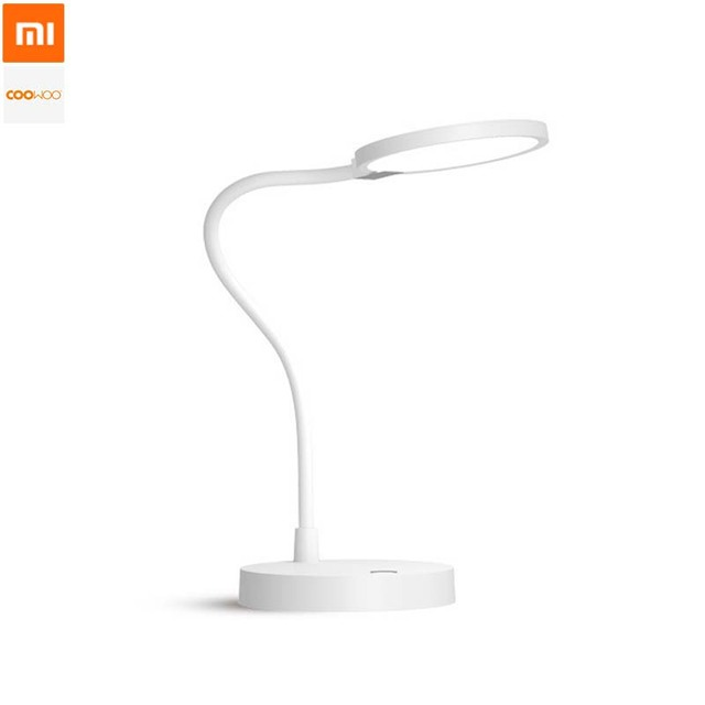 Original Xiaomi COOWOO LED Desk Lamp Smart Table Lamp Eye Protection Light  Adjustable 4000mAh Power 2USB
