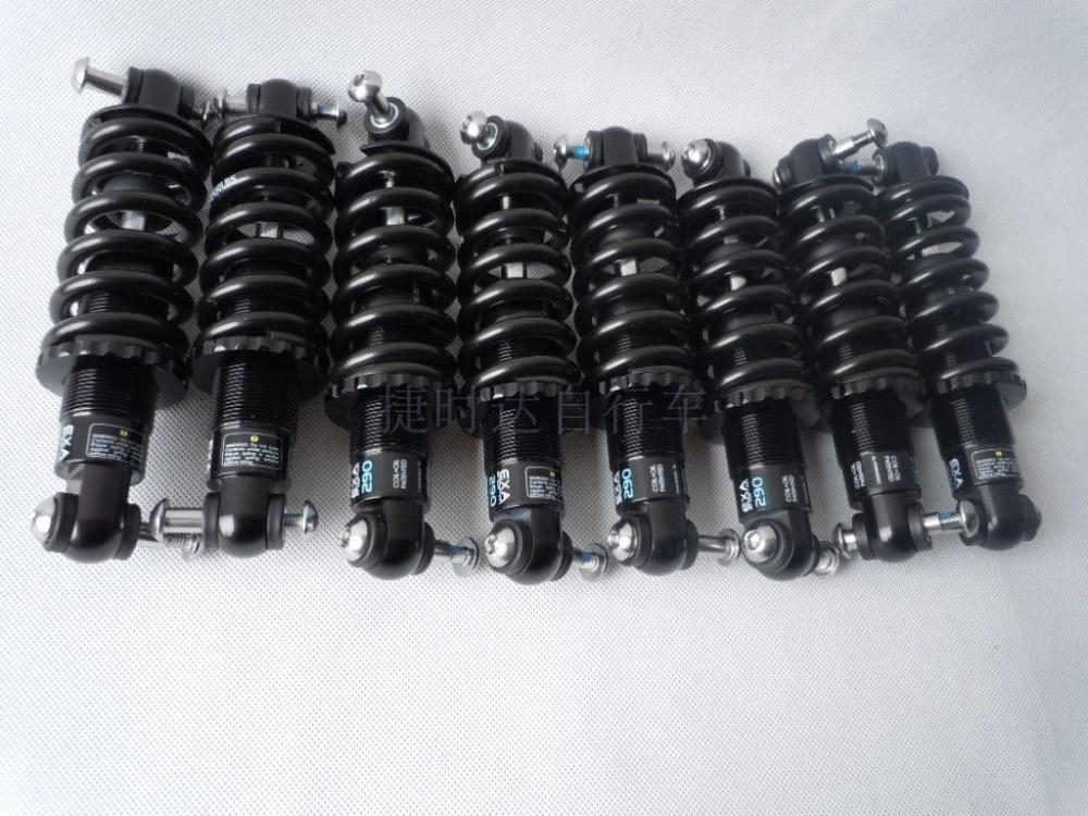 KS  350LBS/450LBS/650LBS 125 150 mm 165/190 mm oil spring mtb folding bike rear suspension|Rear Shocks| |  - title=