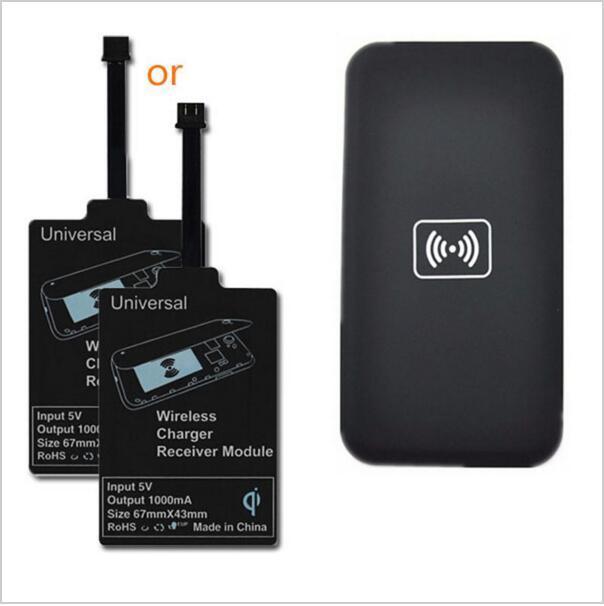 Универсальный Ци Беспроводной Зарядки Комплект Зарядное Устройство Зарядный Адаптер Рецепторов Приемника Pad Coil Для Samsung LG Для Всех Android-Телефон