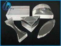 5 개 교육 광학 유리 프리즘 세트 물리학 빛 스펙트럼 프리즘 기본/중간 학교 기본 물리
