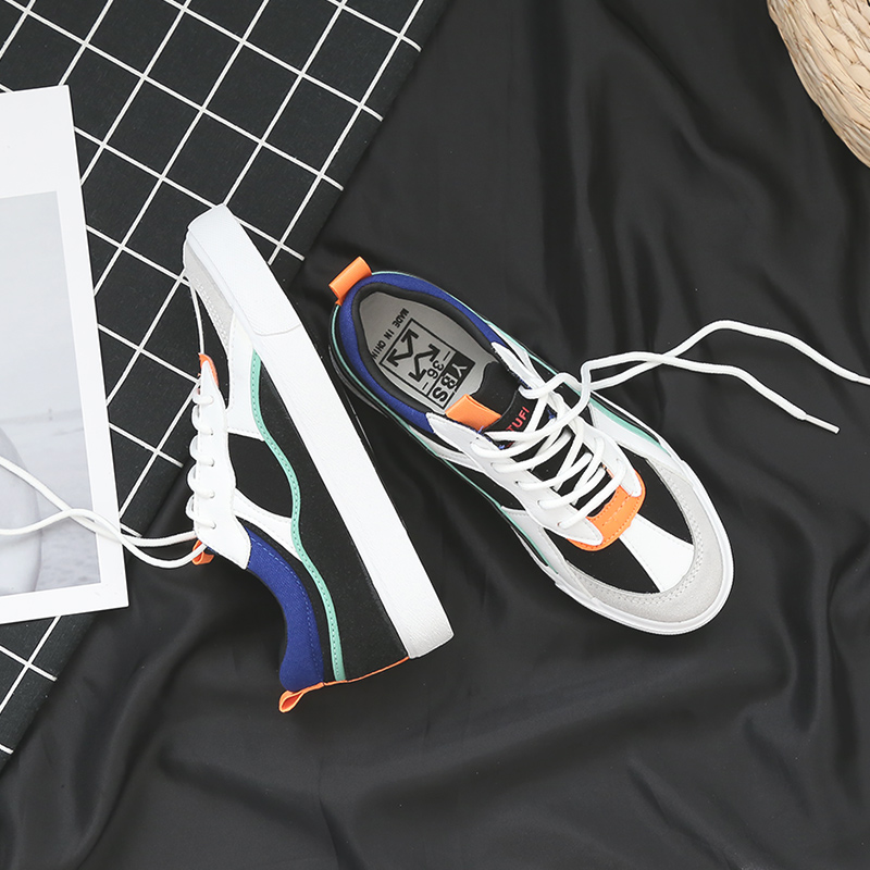 New Brand Women 39 s Canvas Flat Shoes 2018 Fashion Lace Up Women Sneaker Woman Casual Comfortable Flats Footwear in Women 39 s Vulcanize Shoes from Shoes