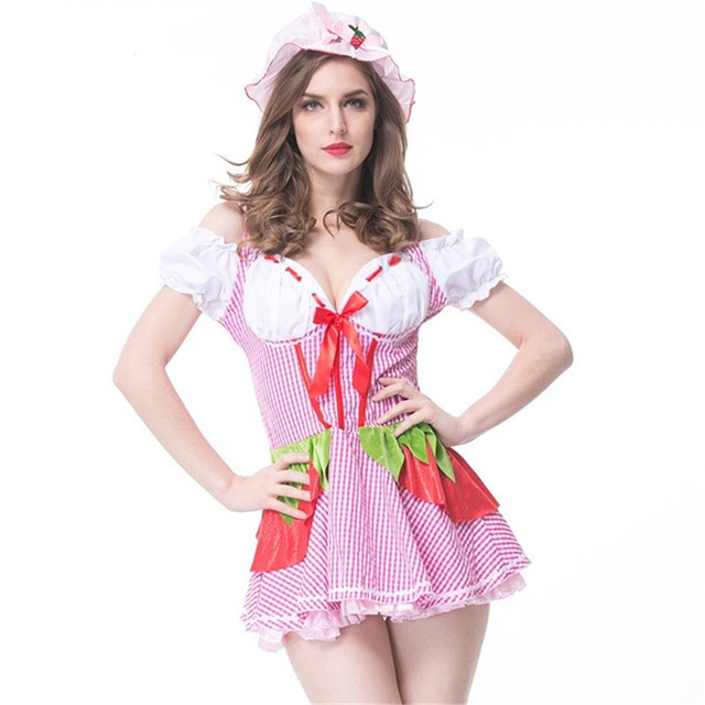 Bangniweig Lady New Halloween Costume Women Cosplay Costume French ...