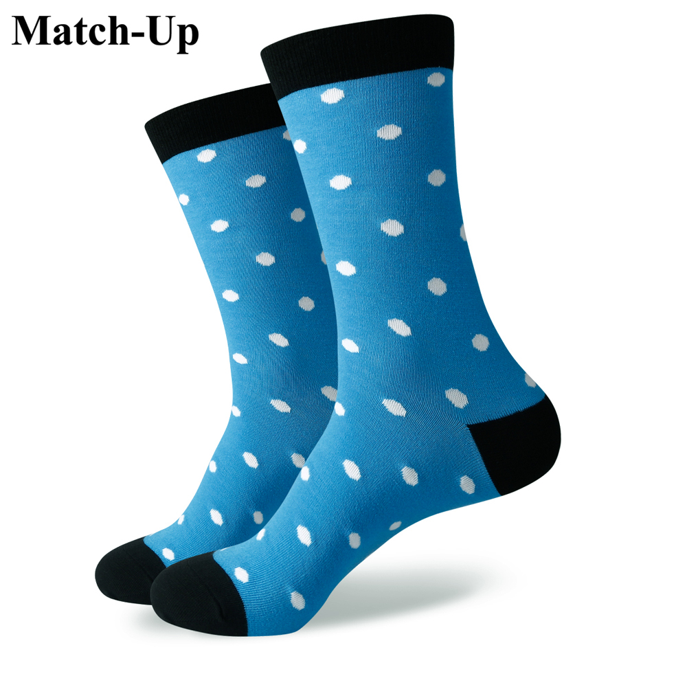Match-Up DROPSHIPPING Customer Order Men Colorful Combed Cotton Socks Funny Socks