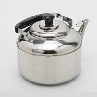 4.5L Big Capacity Stainless Steel Whistling Water Kettle Kitchen Tools Free Shipping