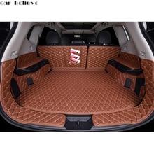 Car Believe Custom car trunk mat For nissan x-trail t31 t32 2016 Cargo Liner Interior Accessories Carpet car styling Foot mat