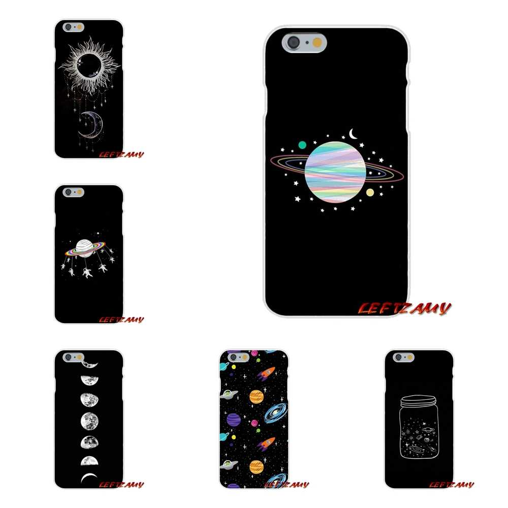 For HTC One M7 M8 A9 M9 E9 Plus U11 Desire 630 530 626 628 816 820 Accessories Cases Covers Space Love Sun And Moon Star drawing