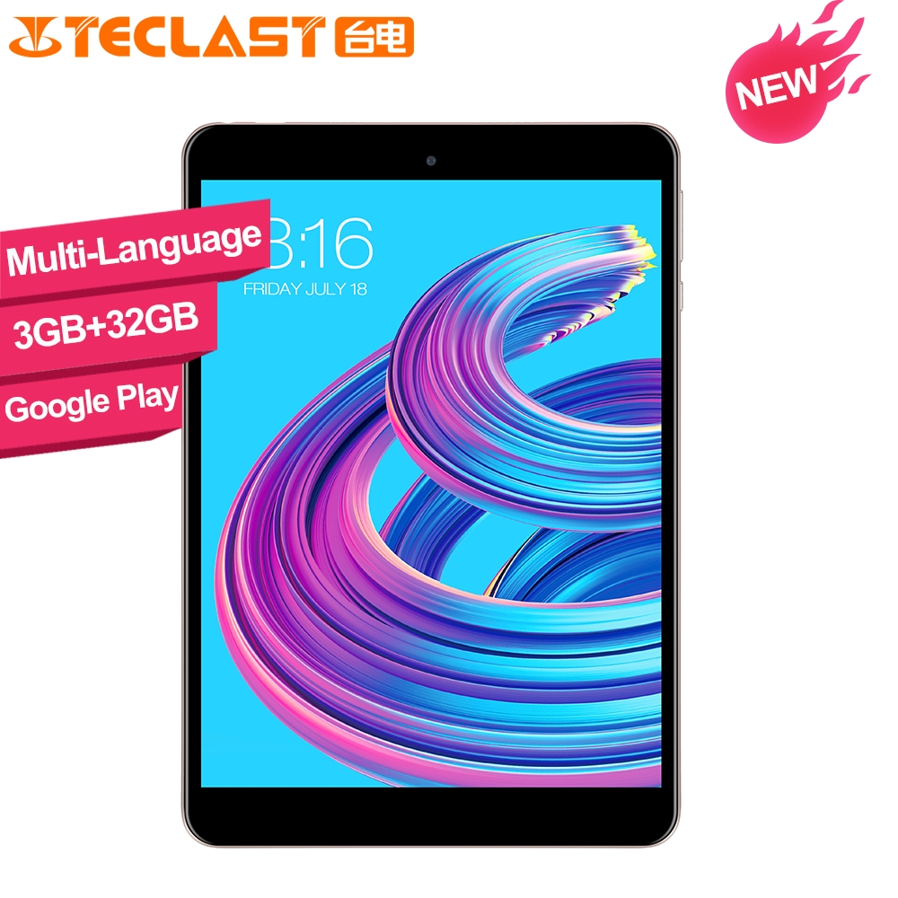 Teclast M89 Pro 7.9 Inch X27 Deca Core 3GB RAM 32GB ROM IPS  2048×1536 Type-C 2.4G+5G Dual-band WiFi Metal Tablet PC