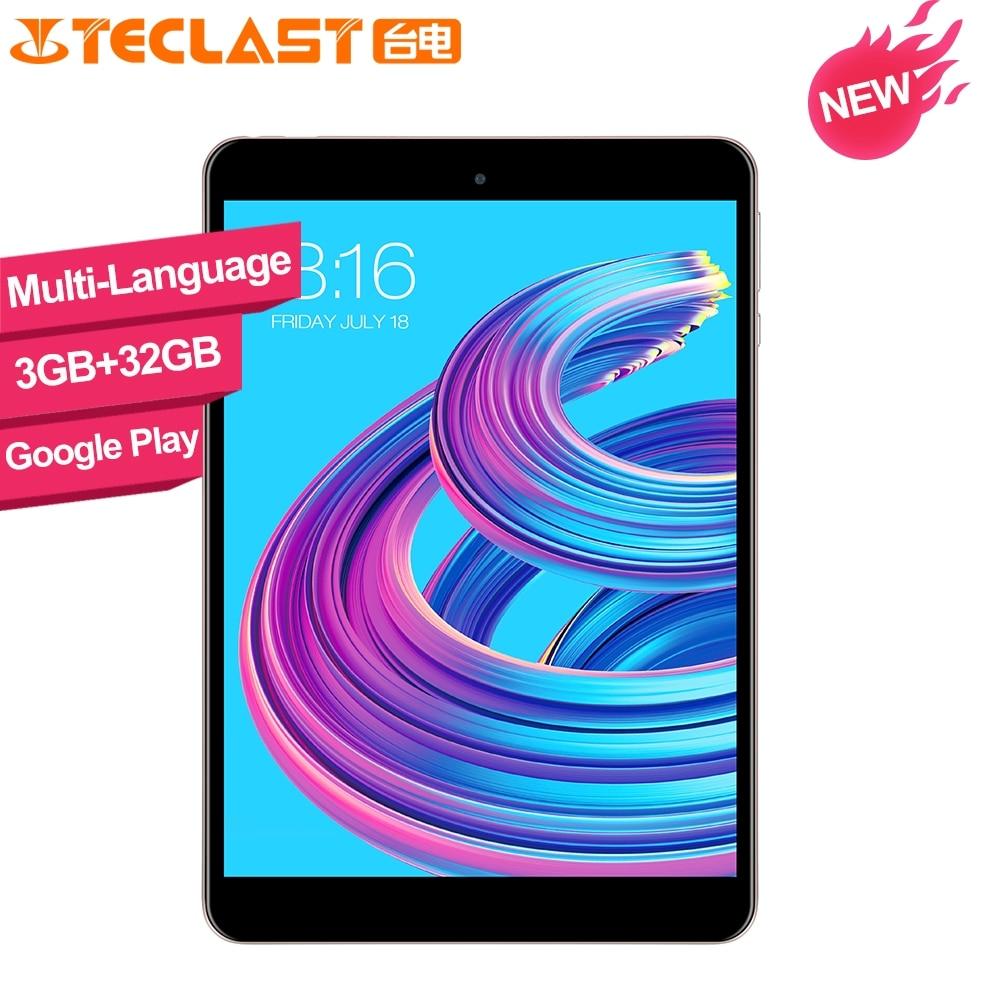 Teclast M89 Pro 7.9 Inch X27 Deca Core 3GB RAM 32GB ROM IPS  2048×1536 Type-C 2.4G+5G Dual-band WiFi Metal Tablet PC