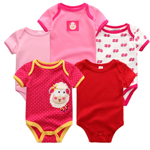5PCS/LOT Top Quality Baby Rompers