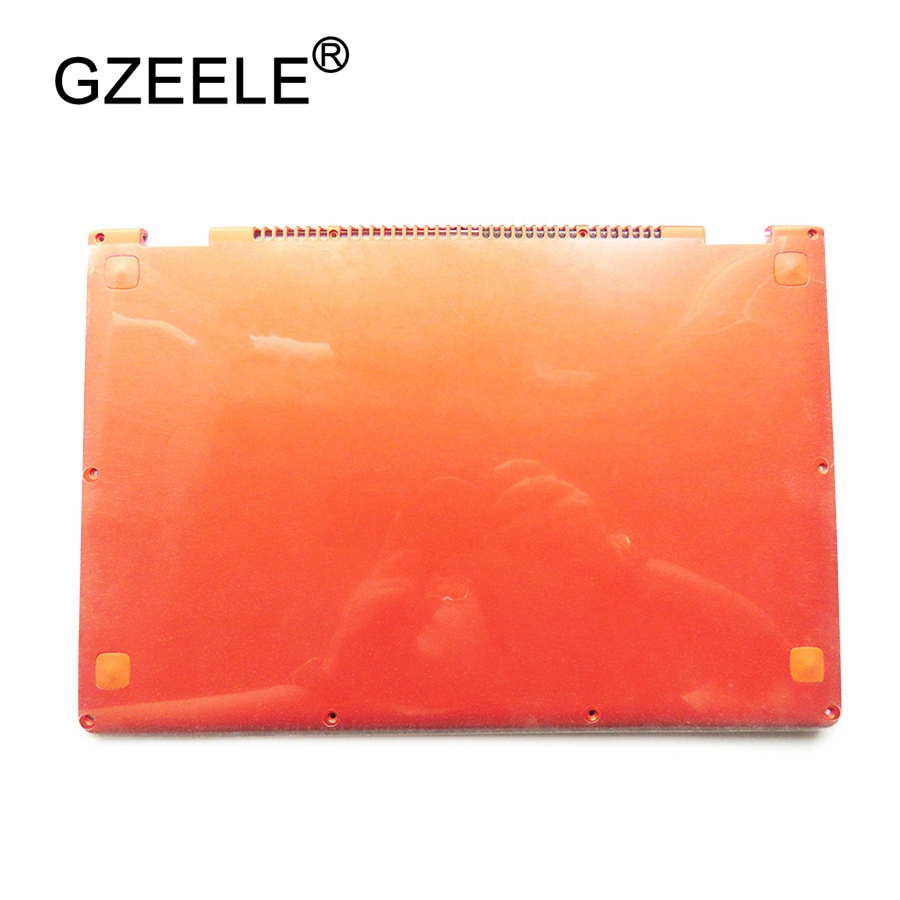 GZEELE Laptop Replace Cover For Lenovo YOGA 13 orange D shell 11S30500246 Laptop Bottom Base Cover lower case case cover for lenovo ideapad yoga 2 pro 13 13 base bottom cover laptop replace cover am0s9000200