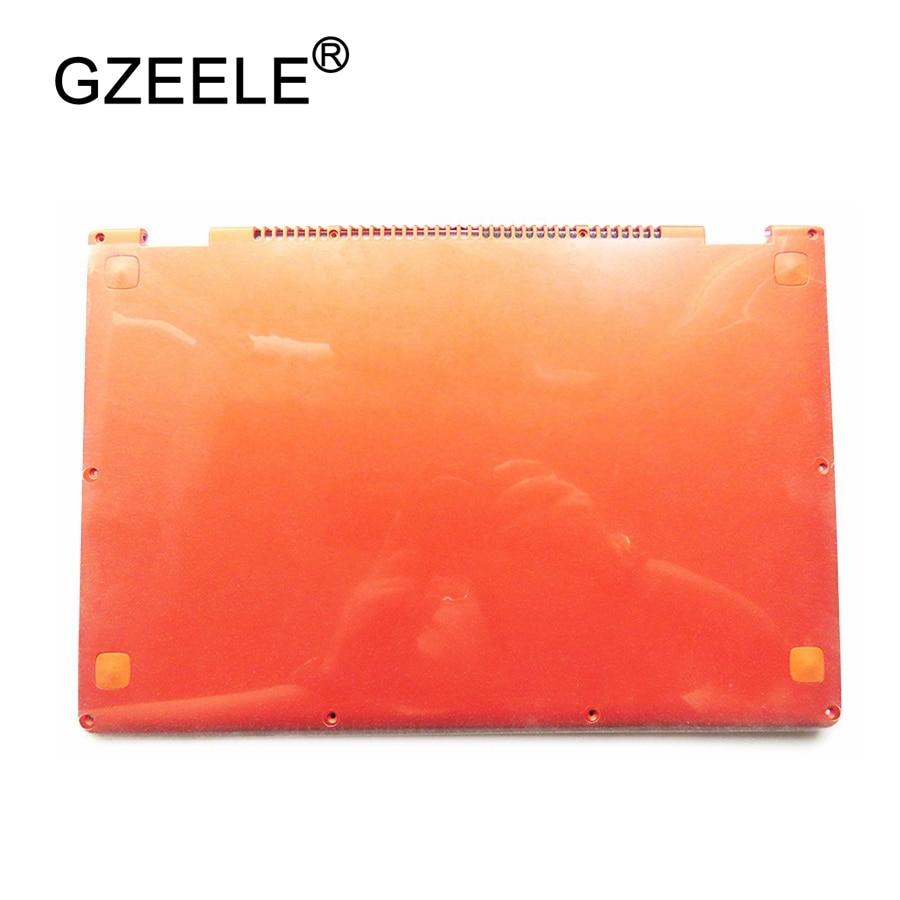 GZEELE Laptop Replace Cover For Lenovo YOGA 13 orange D shell 11S30500246 Laptop Bottom Base Cover lower case