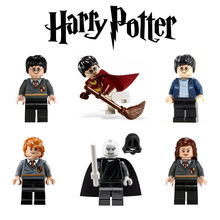 Mini Harry Potter and the Philosopher's Stone Building Toy Hermione Ron Weasle Lord Voldemort figure PG8010 compatible with lego(China (Mainland))