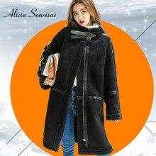 الشتاء الغنم معطف الكشمير