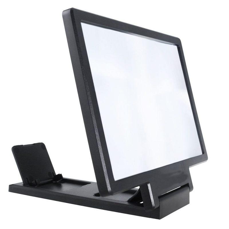 Optische Instrumente Praktische 3x Lupe Einstellung 3d Telefon Film Lupe Optische Objektiv Werkzeug Mit Handy Halterung Und Bildschirm Halterung Messung Und Analyse Instrumente