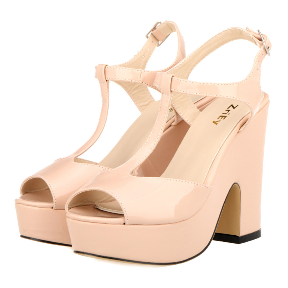 Popular Patent Nude Pumps-Buy Cheap Patent Nude Pumps lots from ...