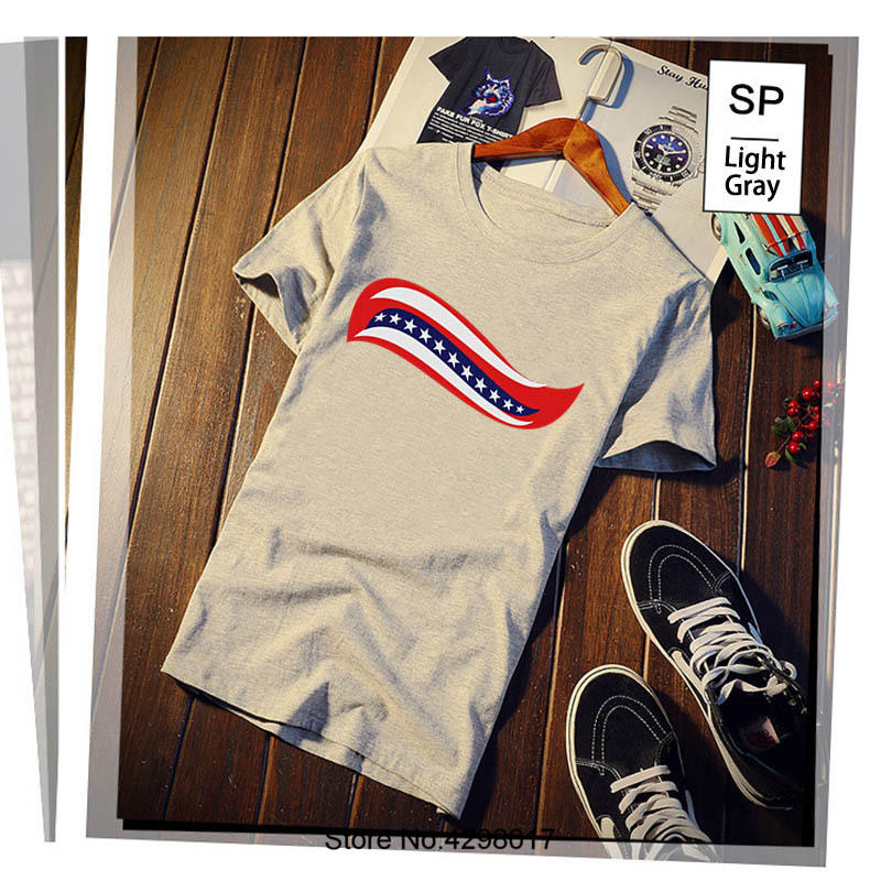 Printed Trump Hair Curl T Shirt Humorous Plus Size 3xl Men Tshirt Vintage Costume Camisas Shirt 100% Cotton Top Quality