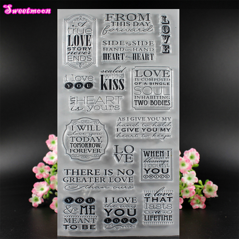 Love Kiss Wishing world Clear Stamp Scrapbook Clear Stamp photo cards account rubber stamp  Embossing Folder card Stamp thank you my friend you are the best scrapbook clear stamp photo cards account rubber stamp embossing folder card stamp
