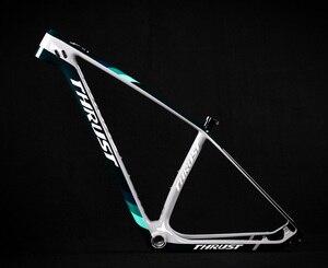 Image 1 - Упорный велосипед, китайская карбоновая рама для горного велосипеда 29er, горный велосипед, 29запасные детали для велосипеда, углепластик рама 142*12 или 135*9 мм, велосипедная Рама