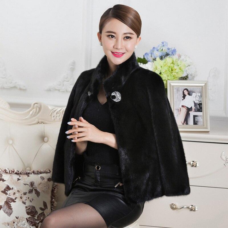 Taille Vison 2019 À Manteau Mince Faux La Plus Épais Wr600 Furry Femmes Fourrure De Sexy Noir Blanc Manches Longues Pardessus z4T5nPn8