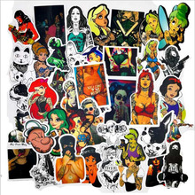 Pvc Stickers Personality Tattooed Graffiti Waterproof 47PCS