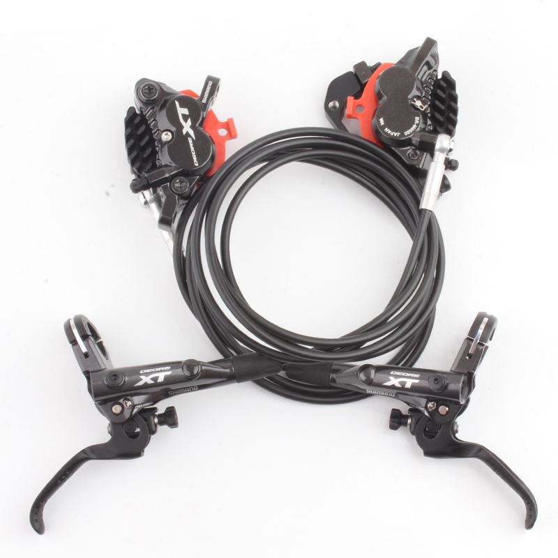 SHIMANO DEORE XT BL M8000 BR M8020 Hydraulic Disc Brake 4 Pistons Include ICE TECH PADS