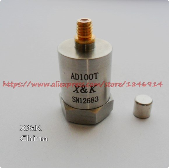 Free shipping AD100T ICP acceleration sensor