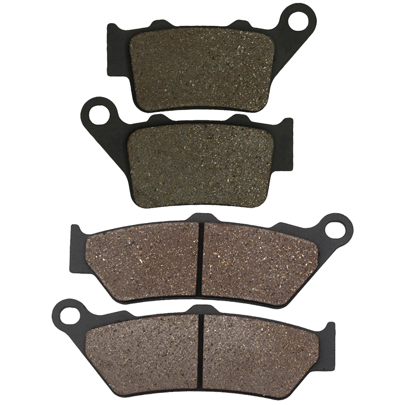 Cyleto Motorcycle Front and Rear Brake Pads for YAMAHA XT660 XT 660 R 660R XT660R 2004 2013|Brake Disks| |  - title=