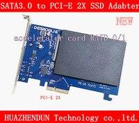 NEW High Speed SATA3.0 to PCI Express X2 SSD Adapter card RAID card accelerator card