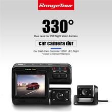 Buy online i1000S Dual Lens Car DVR Camera Recorder i1000s Dash Cam Black Box Full HD 1080P 140 Degree with Rear View DashCam Camcorder
