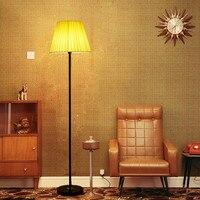 Современные торшер с Lamshade для гостиной Спальня lampadaire де салон помещении домашнего декора E14 лампы торшер светильники