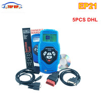 5 ADET DHL Ücretsiz EP21 Elektronik ep21 Park Fren (EPB) EP21 Servis Aracı Profesyonel oto parçaları Kod Tarayıcı EPB Servis aracı