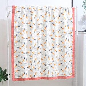 Image 5 - Grande taille en mousseline de coton 120X150cm