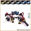 2X Car Styling Faros 35 W HID Xenon bombilla H1 H3 H7 H11 9005 9006 880 881 auto de la lámpara 4300 K 5000 K 6000 K 12 V linterna Del Coche HID