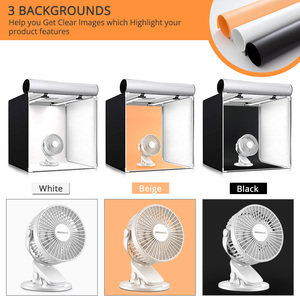 Image 3 - Travor caja de luz para estudio fotográfico regulable, 80x80cm, 31,5 pulgadas, adaptador de CA, fondos para cámara de teléfono, DSLR, joyería, juguetes de zapato