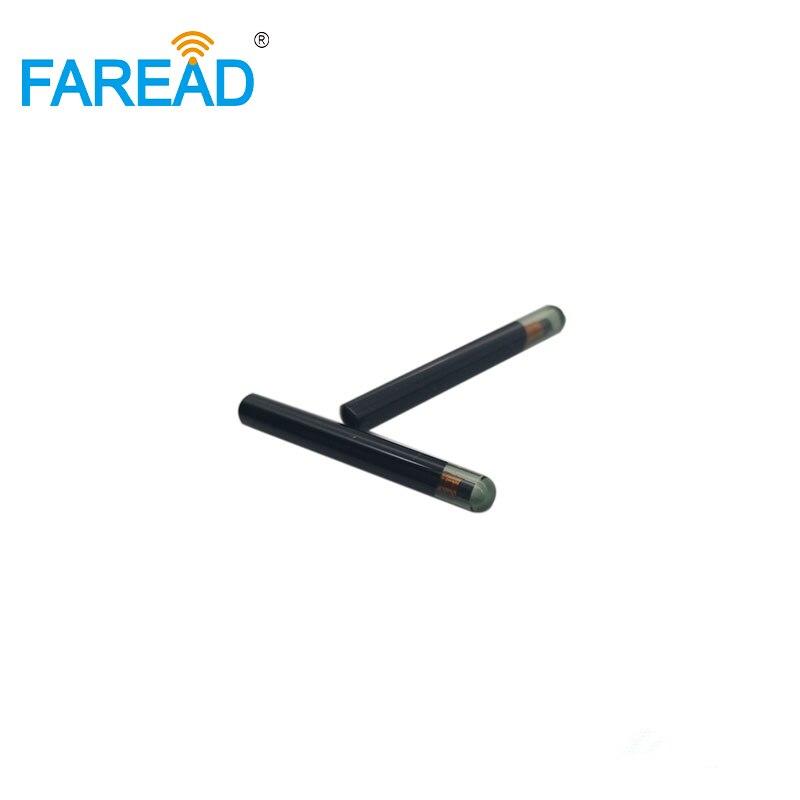 Image 5 - 100pcs free shipping Rewriteable EM4305 with EM4100 protocol, 4x22mm, 125Khz glass tag via FedExIC/ID Card   -