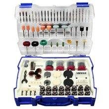 268 sztuk Mini zestaw wierteł narzędzia ścierne szlifowanie szlifowanie polerowanie zestaw narzędzi do cięcia akcesoria Dremel Set