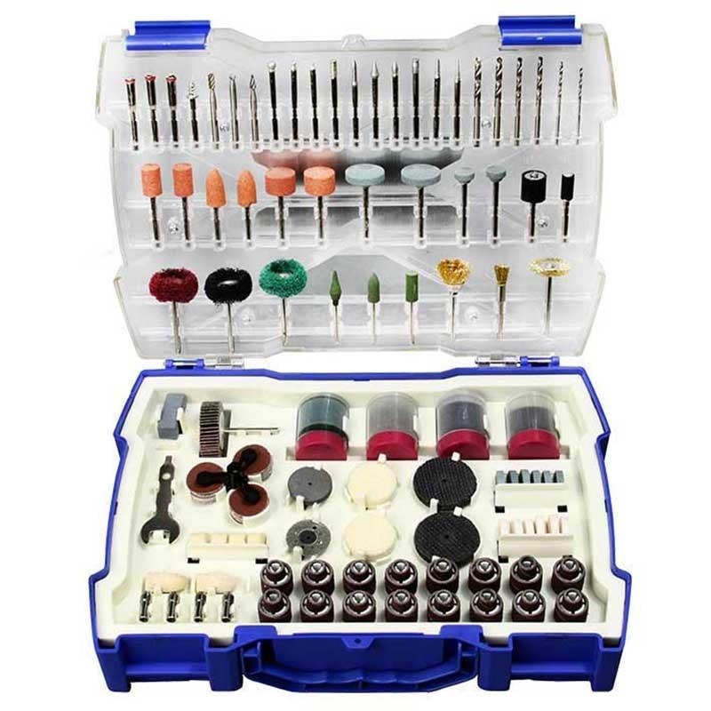 268Pcs Mini Drill Bit Set Abrasive Tools Grinding Sanding Polishing Cutting Tool Kit For Dremel Accessories Set