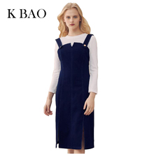 Summer Sundresses Woman Denim Dress female Solid Color Dark Blue Spaghetti Straps Sexy Sheath Slim Girls Dress