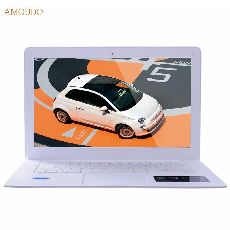 Amoudo 6C 4GB RAM 120GB SSD 500GB HDD 14inch 1920 1080 FHD Windows 7 10 Dual