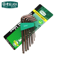 8 In 1 Hex Wrenches Bronze S2 Alloy Steel 140mm Strong Magnetic High Quality Brand African Swiss Voile Lace