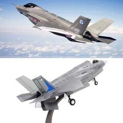 1/72 escala del Ejército de la Marina de los Estados Unidos F35 aviones de combate modelos de aviones juguetes para niños y adultos para exhibición