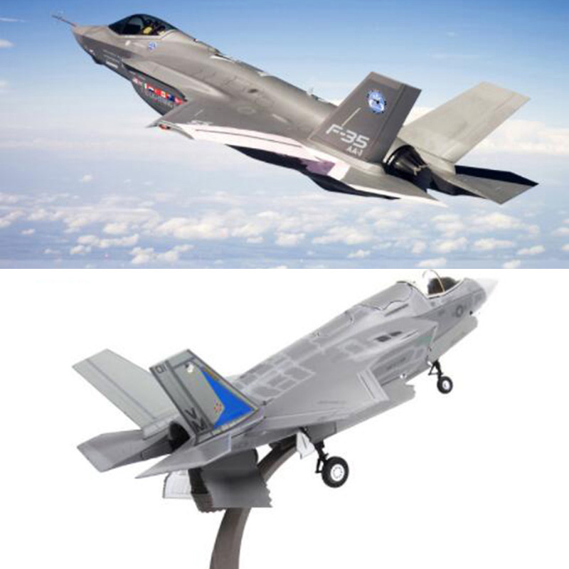 1/72 Scale U.S. American Navy Army F35 Fighter Fighter Aircraft Airplane Models Adult Children Toys For Display Show