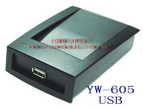 USB HF RFID Reader/Writer/ISO14443A+B+ISO15693/13.56M/YW-605UCUSB HF RFID Reader/Writer/ISO14443A+B+ISO15693/13.56M/YW-605UC